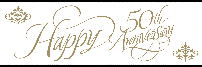 50th Anniversary Invitation G