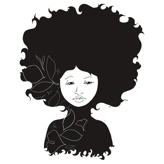 Afro Clip Art