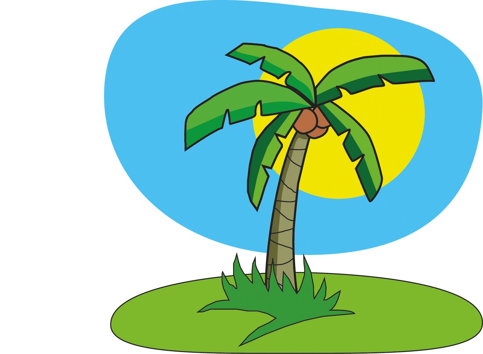 10 Coconut Tree Cartoon Free Cliparts Th-10 Coconut Tree Cartoon Free Cliparts That You Can Download To You-0