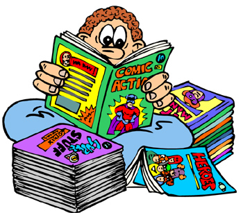 10 Comic Book Clip Art Free Cliparts That You Can Download To You