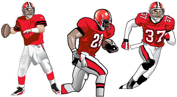 10 Football Player Drawings Free Cliparts That You Can Download To You