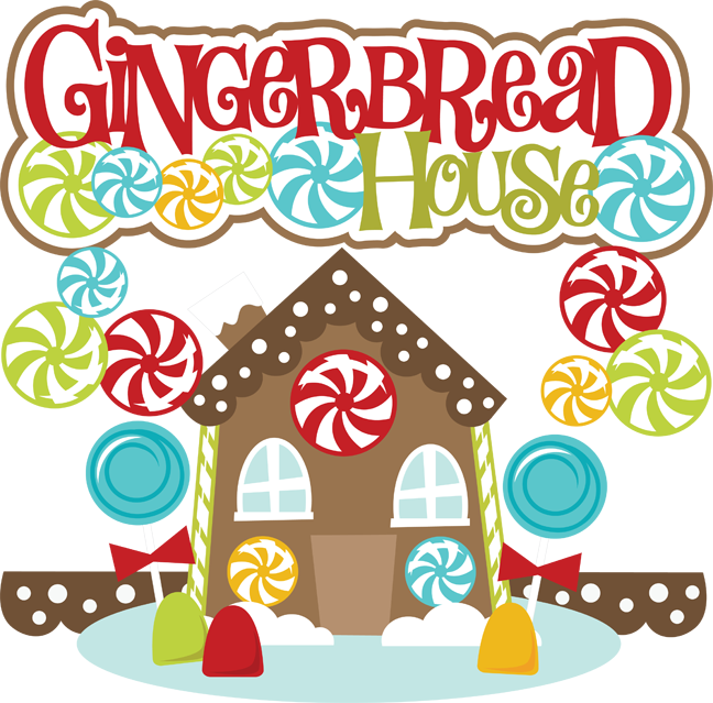 Gingerbread House Clipart