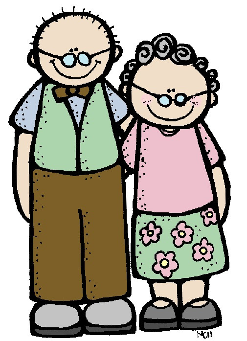 Clipart Grandparents