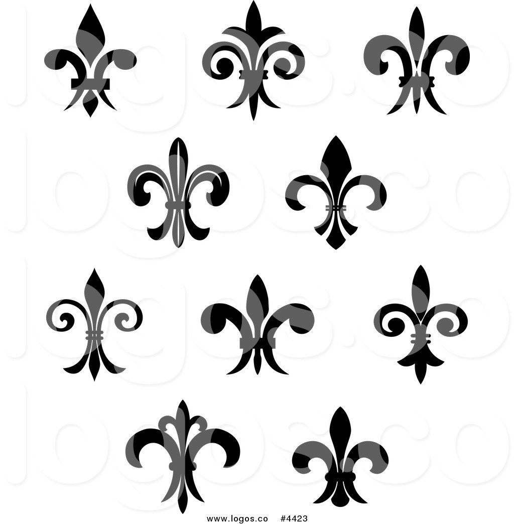 10  images about Fleur De Lis on Pinterest | Wings, Wall mural decals and Search
