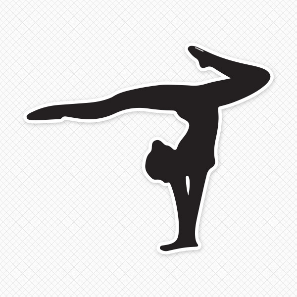 10  images about Gymnastics on Pinterest | Gymnasts, Silhouette online store and Clip art free