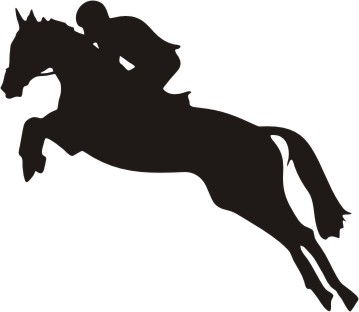 Horse Jumping Clipart