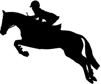 10 Jumping Horse Silhouette Free Cliparts That You Can Download To You