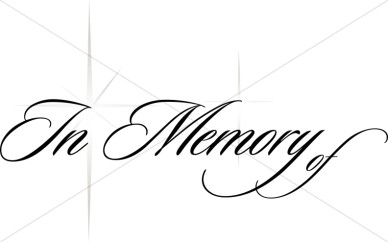 Memorial Clipart