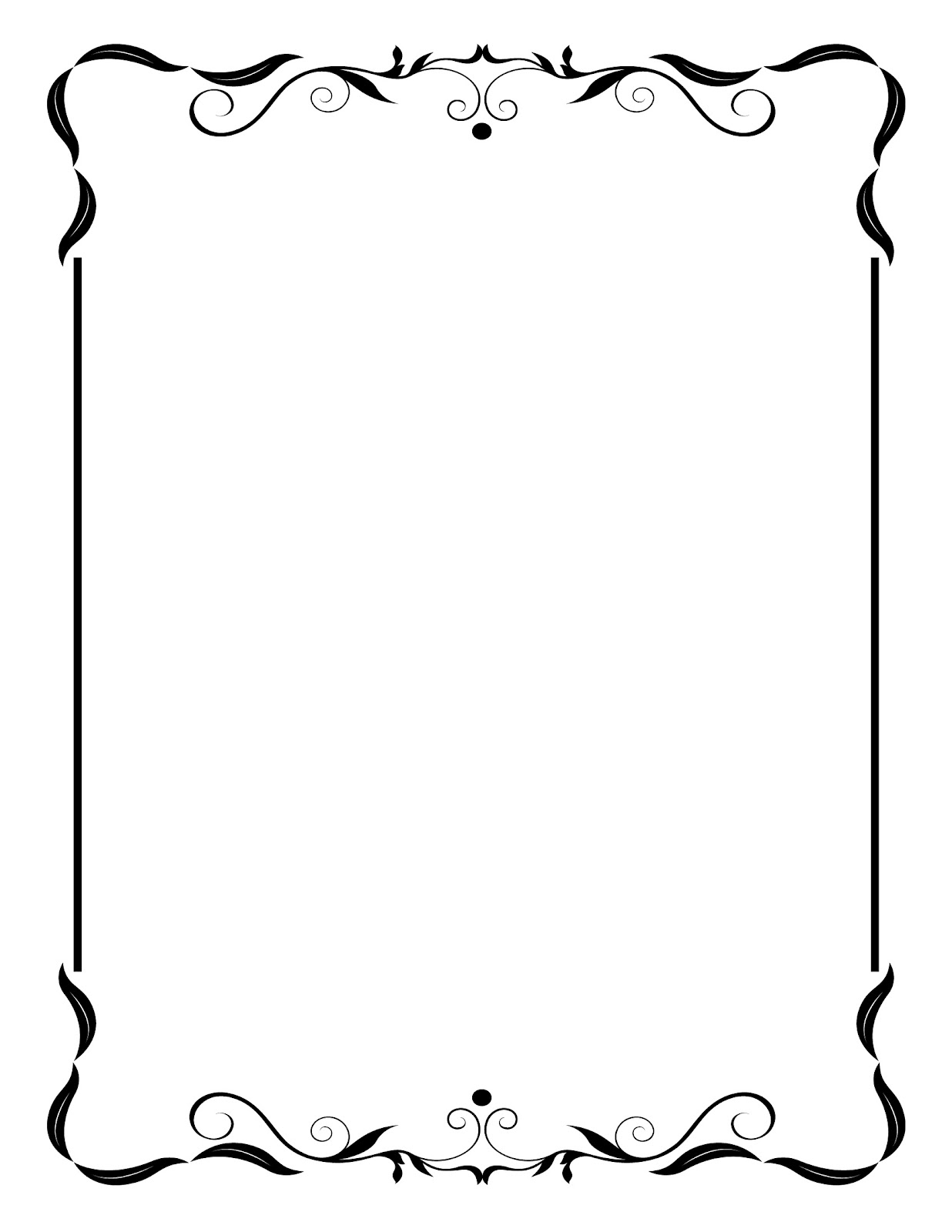 Wedding Clipart Borders