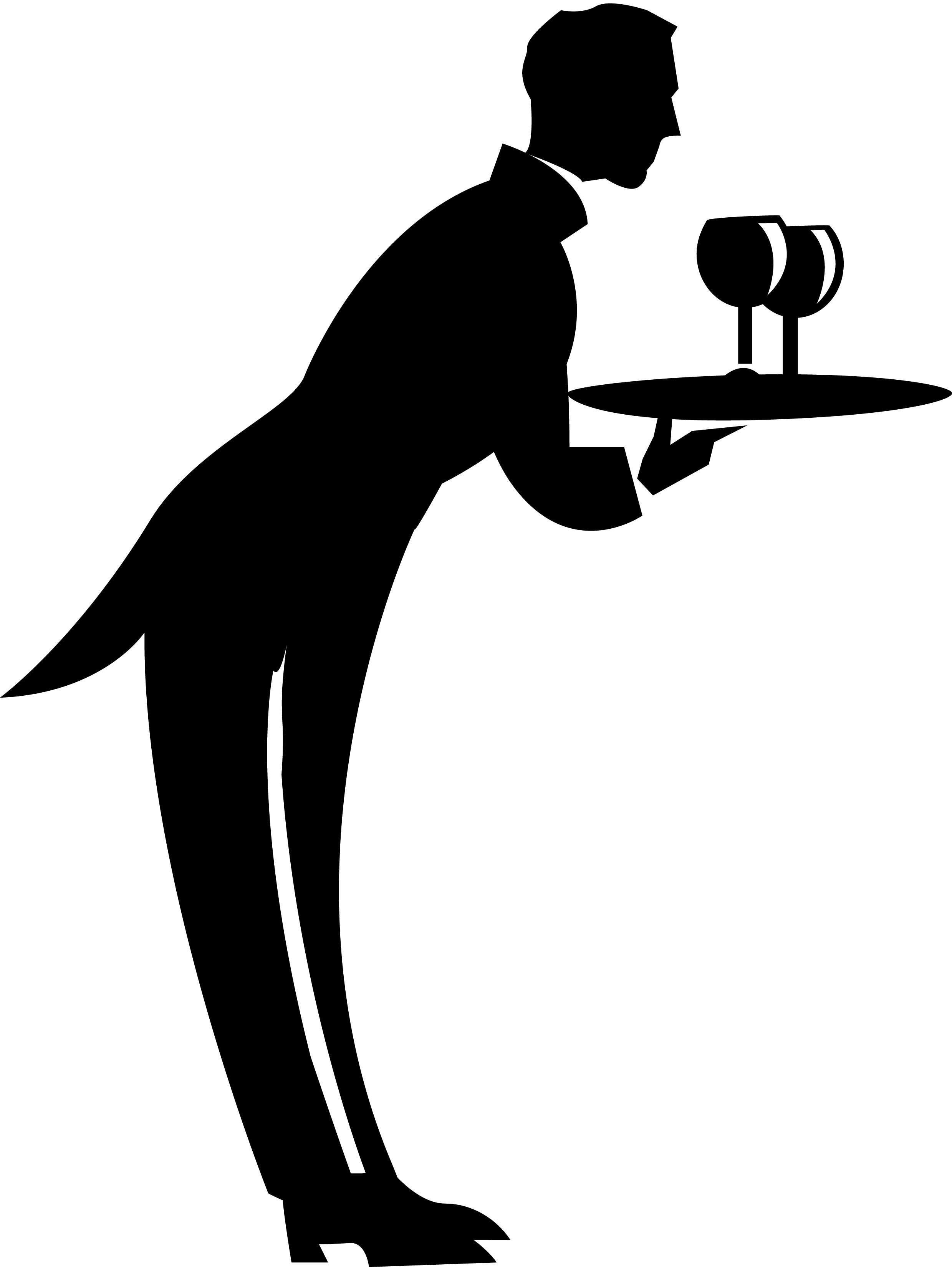 Waiter Clip Art