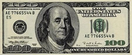 100 Dollar Bill Clipart A Packet Of One Hundred 100