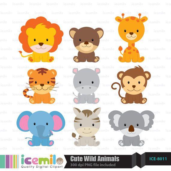 Cute Clipart Animals
