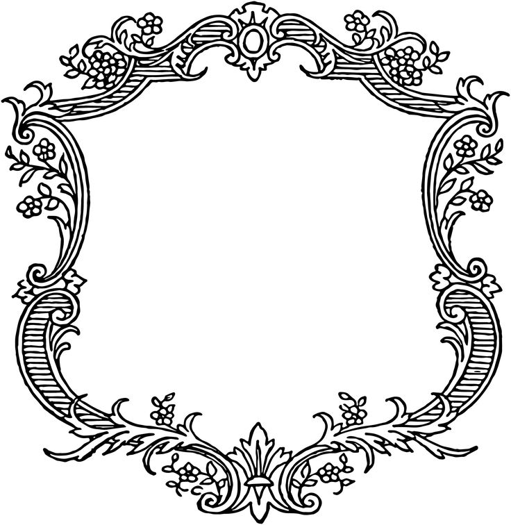 Vintage Border Clipart Look At Clip Art Images
