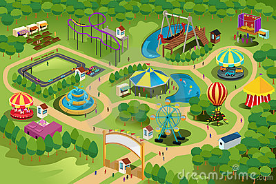 1000  images about amusement park on Pinterest | Vector icons, Design cards and Set of