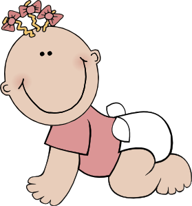 1000  images about baby shower clip art on Pinterest | On the side, Baby girls and Clip art