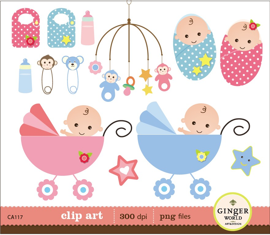 Clipart Baby Shower
