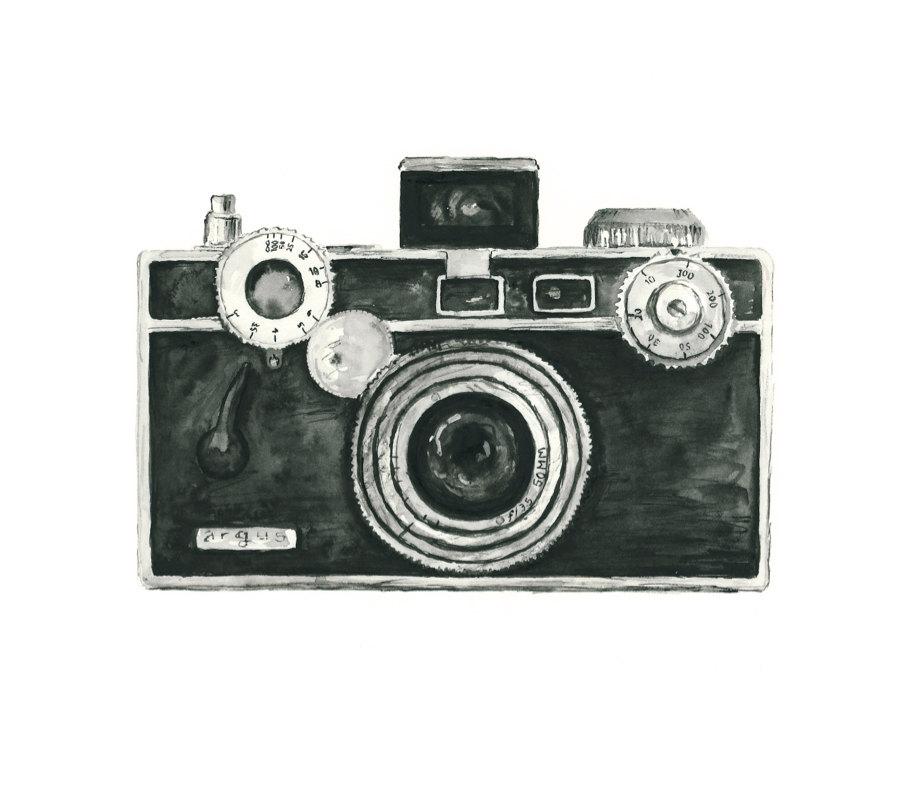 Vintage Camera Clip Art