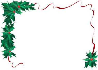 Holiday Border Clip Art