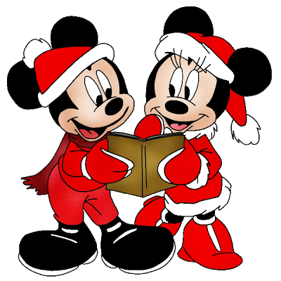 Mickey Mouse Christmas Clipart
