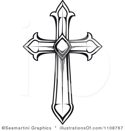 Clipart Of Crosses