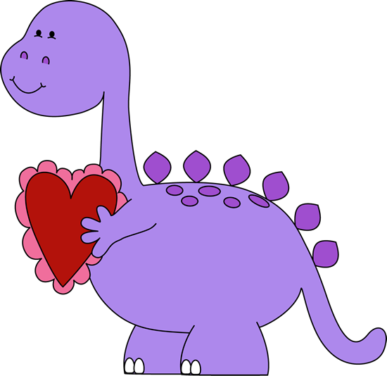 Dinosaurs In Love Valentines