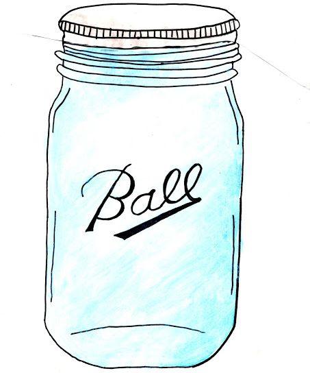 1000  images about Free Mason Jar Printables on Pinterest | Mason jar gifts, Jars and Clip art