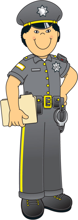 1000  images about Povolání - Police Officer Clipart