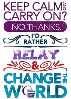 Relay For Life Clipart