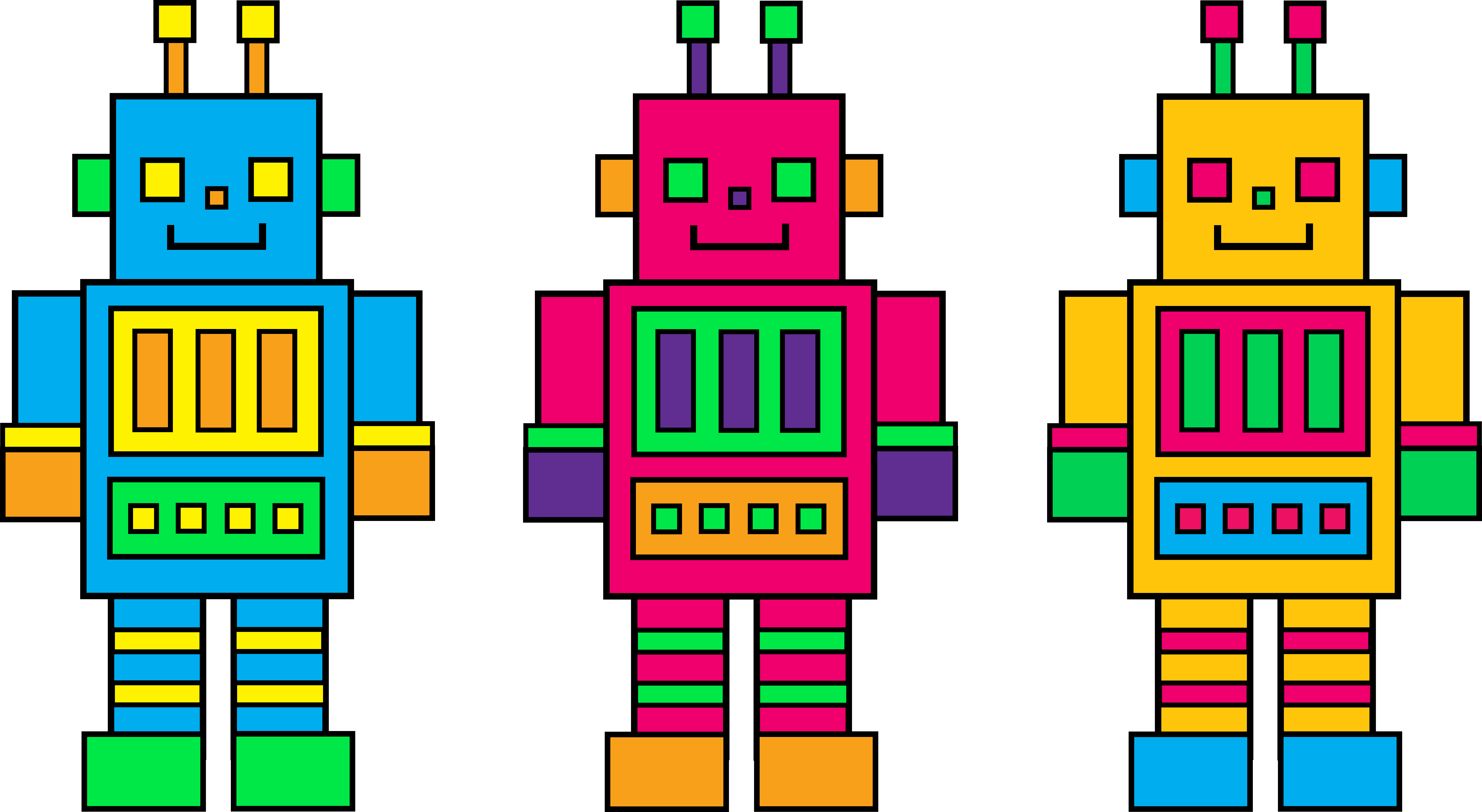 1000  images about robot printables on Pinterest | Aliens, Digital art and Clip art