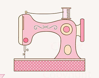 1000  images about sewing machine illustration on Pinterest | Clip art, Search and Vector illustrations