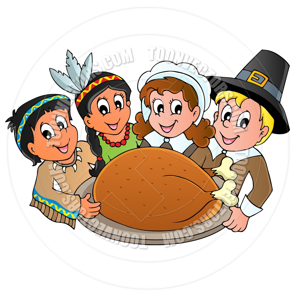 1000  images about Thanksgivi - Thanksgiving Feast Clipart