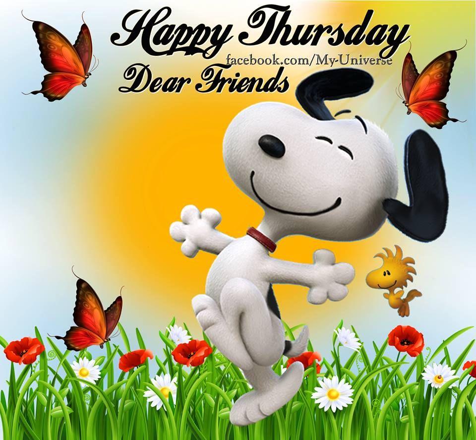 Happy Thursday Clipart