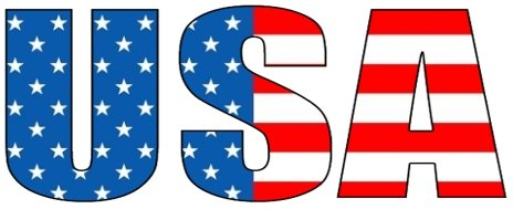 Clip art of usa flag