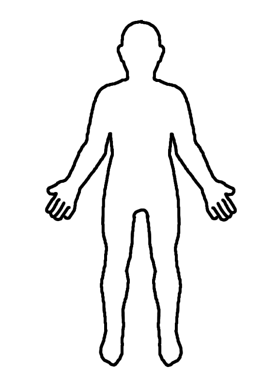 11 Human Body Outline Template Free Clip-11 Human Body Outline Template Free Cliparts That You Can Download To-1
