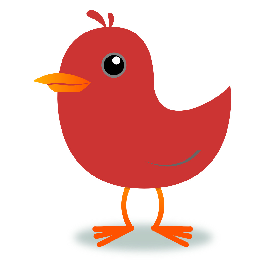 11 Red Bird Clipart Free Clip - Red Bird Clipart