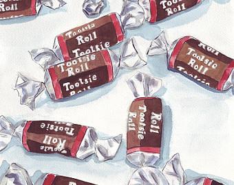 Tootsie Roll Clip Art