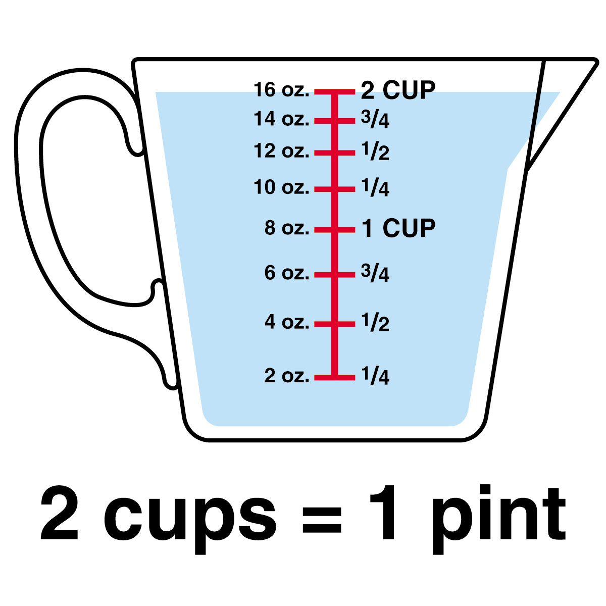 12 Cup Measuring Cup Clipart-12 Cup Measuring Cup Clipart-5