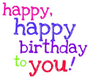 12 Free Cute And Colorful Happy Birthday Clip Art Computersight