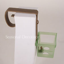12 Pew Bow Clip With Small Basket For We-12 Pew Bow Clip With Small Basket For Wedding Floral Bouquets-10