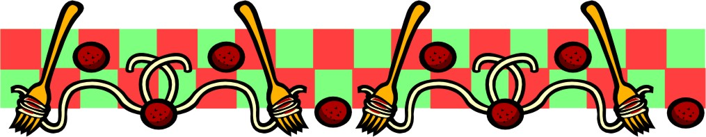 Spaghetti Dinner Clipart