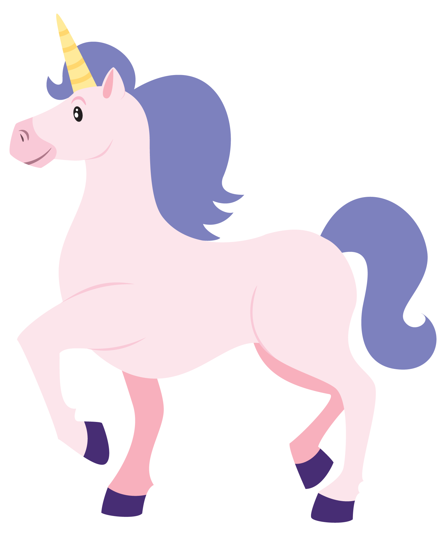 12 Unicorn Cartoon Free Cliparts That You Can Download To You