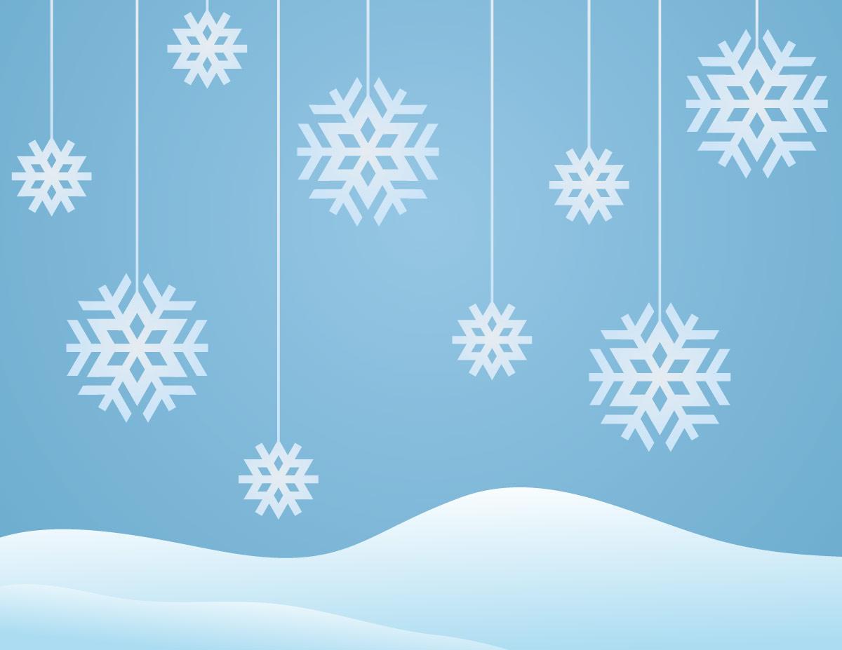 1200 X 927 94 Kb Jpeg Winter Snowflakes Clip Art