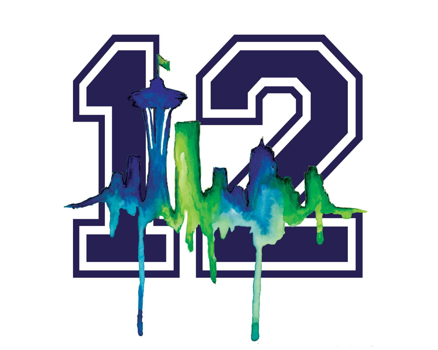 12th Man, Seahawks And Seattle .-12th man, Seahawks and Seattle .-0