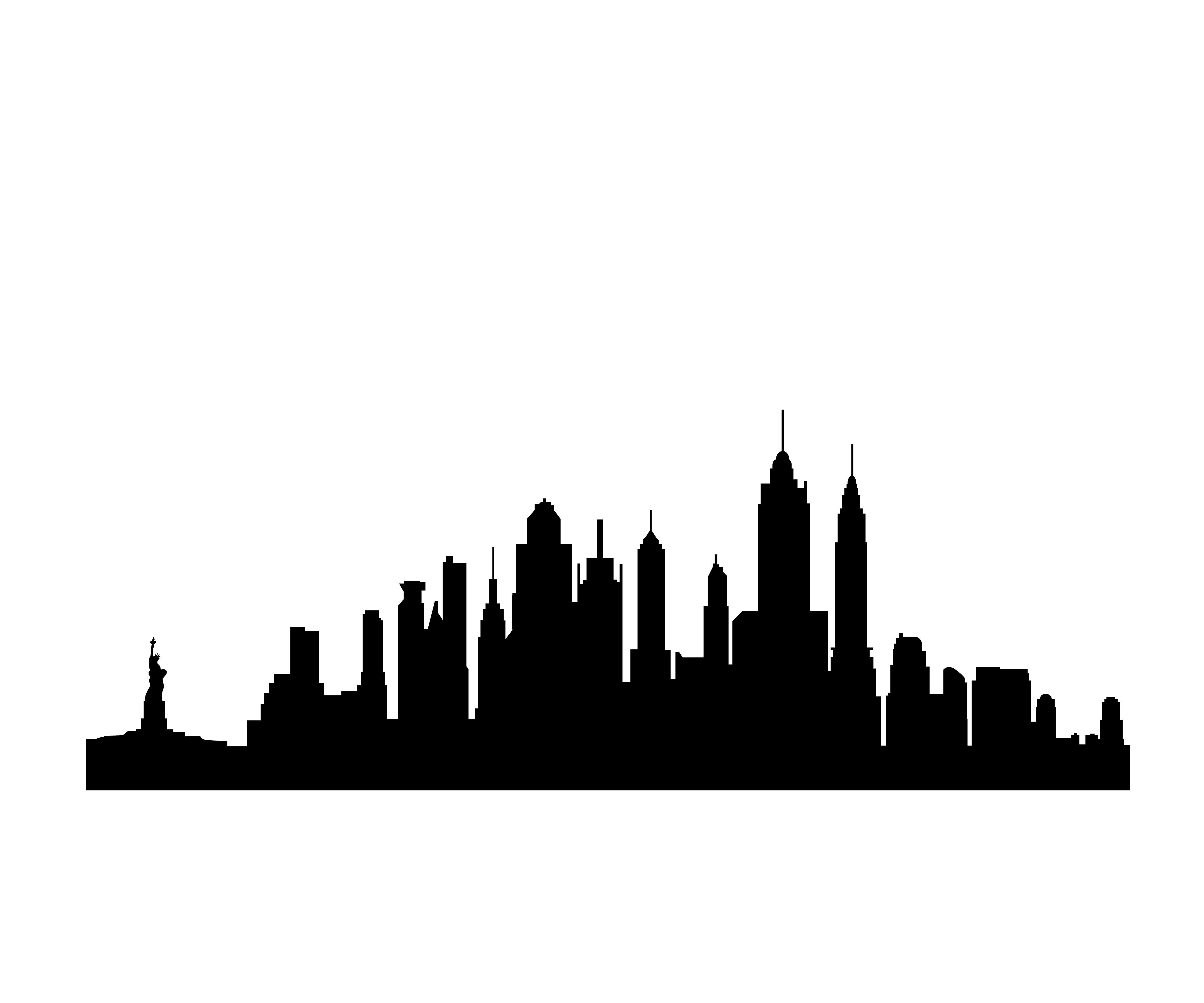 13 Free Clip Art New York City Skyline S-13 Free Clip Art New York City Skyline Silhouette Free Cliparts That-0