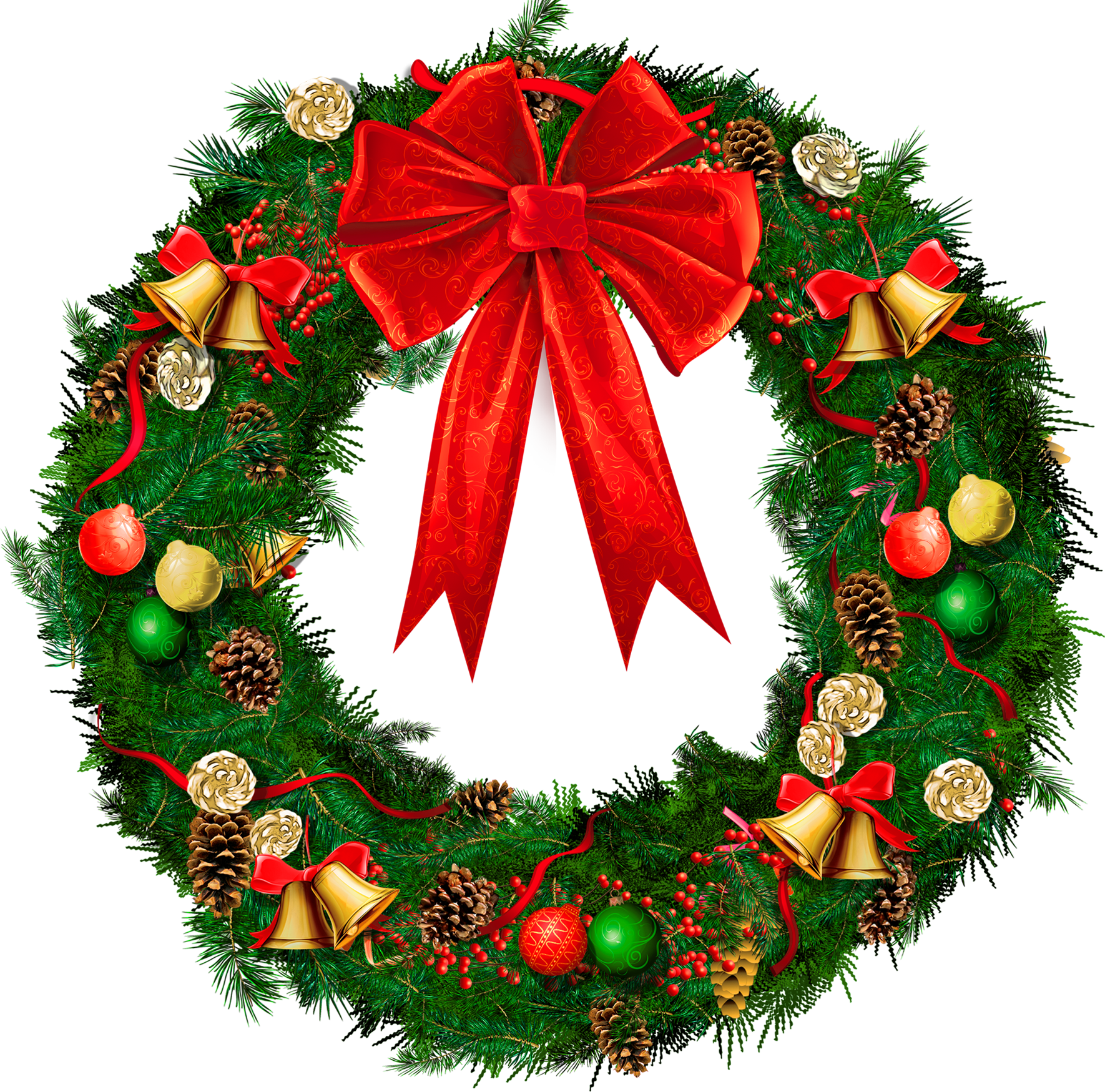 Christmas wreath reef. Clipart look at clip