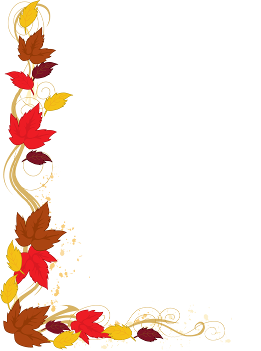 13 Thanksgiving Borders Clip  - Free Thanksgiving Clip Art Borders