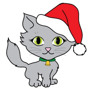 14 Christmas Cat Clip Art Free Cliparts That You Can Download To You
