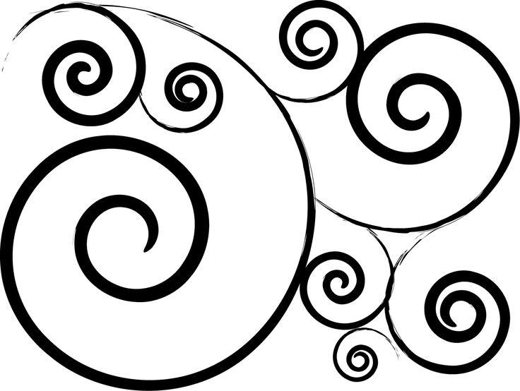 Swirl Design Clip Art