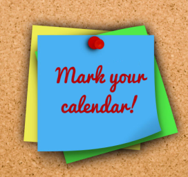 14 Mark Your Calendar Clipart ... Wyngate PTA Calendar .