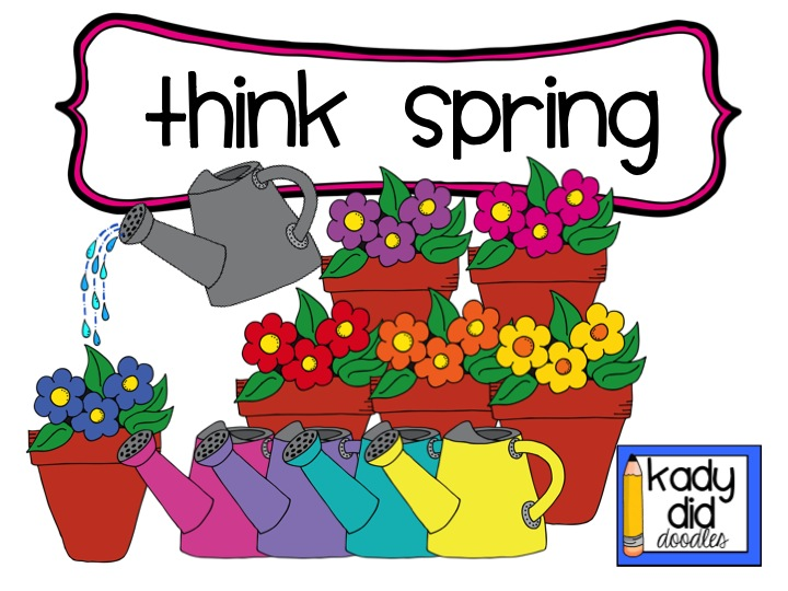 14 Think Spring Clip Art Free .